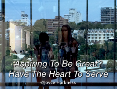 Greatness requires a heart that is willing to serve.