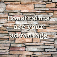 The Advantage of Constraints