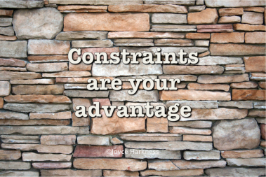The Advantage of Constraints